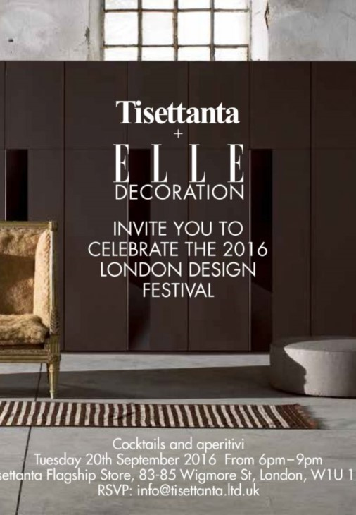 Elle Decor - Invitation